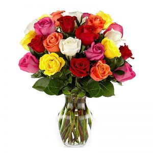 arreglo 24 rosas