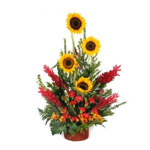 Arreglo-floral-girasol