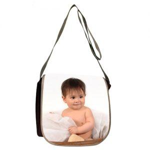 bolso con tapa con foto