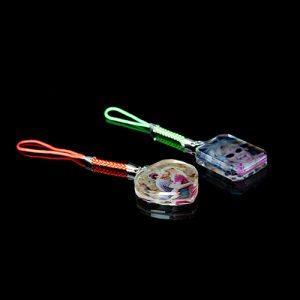 colgador cristal foto