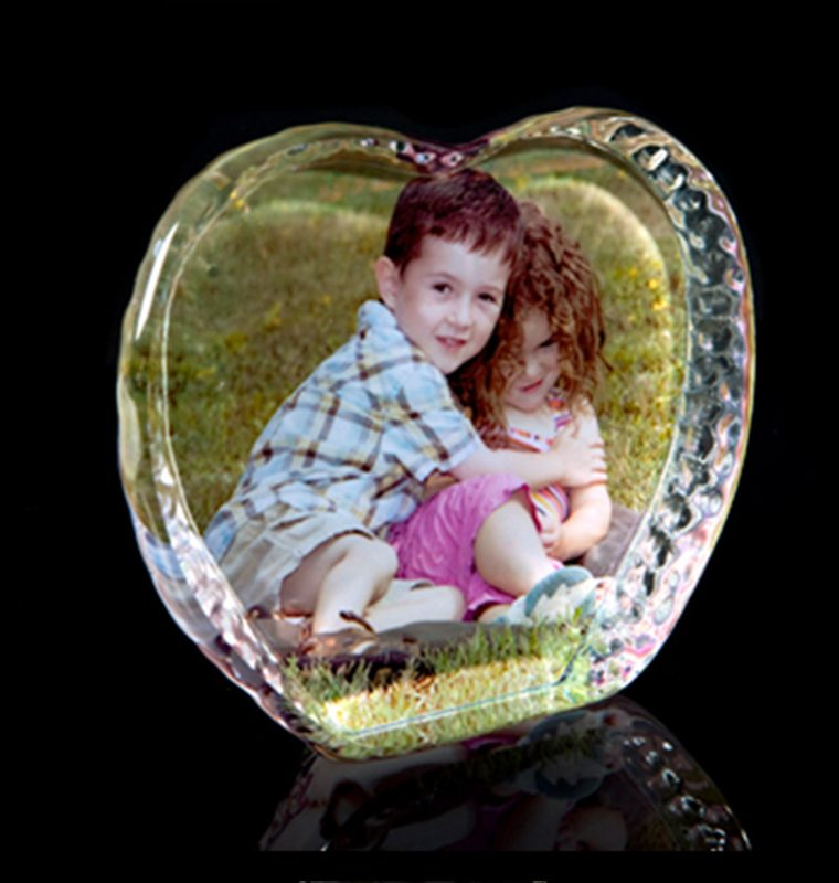 cristal corazon hielo