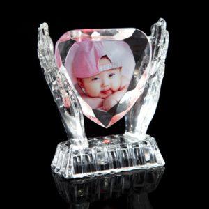 cristal corazon fotoregalo