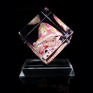 cristal cubo diamante