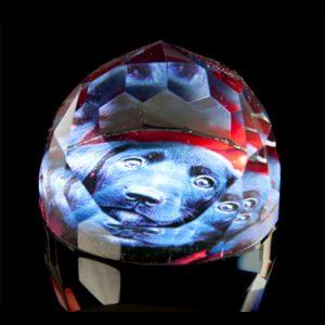 cristal de escritorio foto