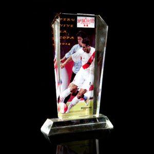 Trofeo de cristal