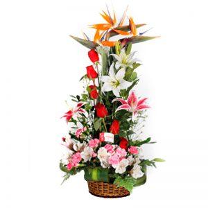 arreglo flores alegria
