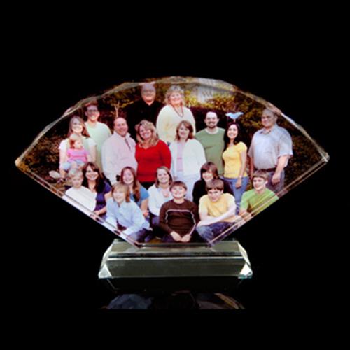 cristal abanico