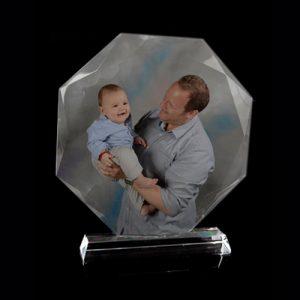 cristal 8 ángulos