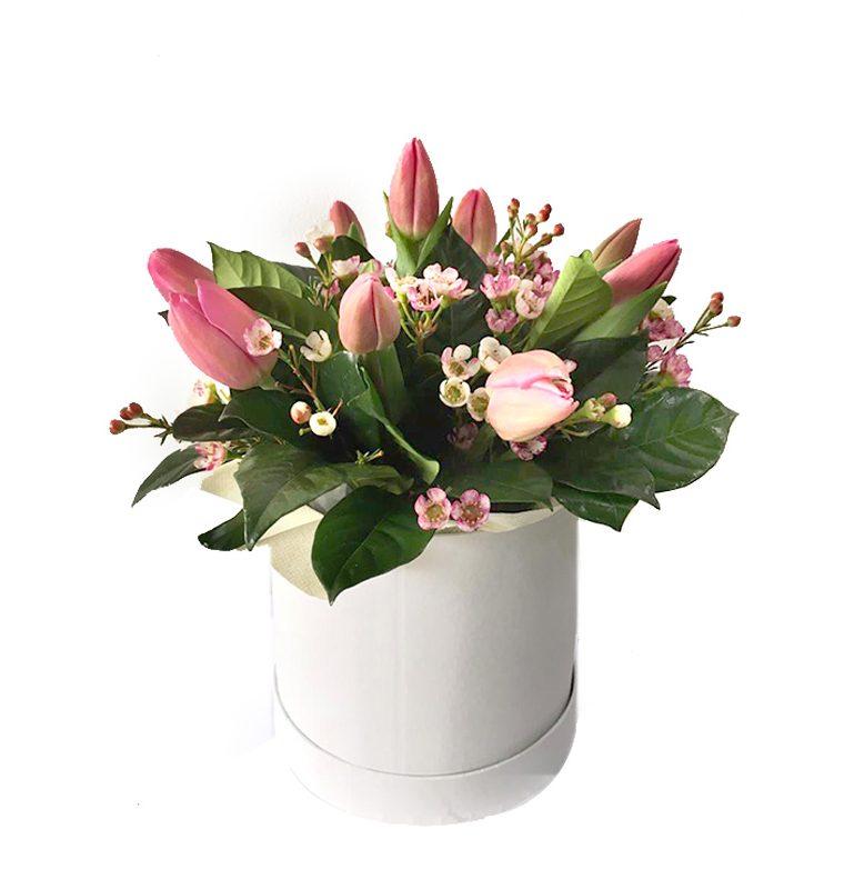 box de 10 tulipanes