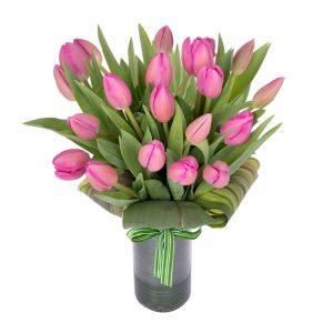 Florero-20-tulipanes
