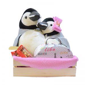 Pinguinos-enamorados