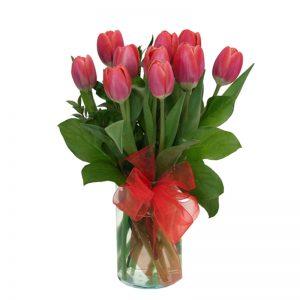 tulipanes-en-florero