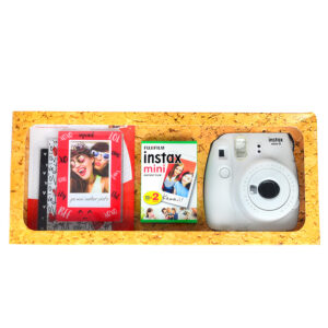 Camara Instax Mini blanco